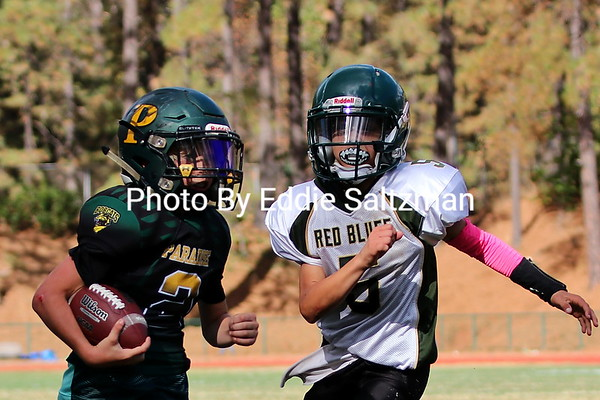 Peewees vs. Red Bluff  (10/6/2018)