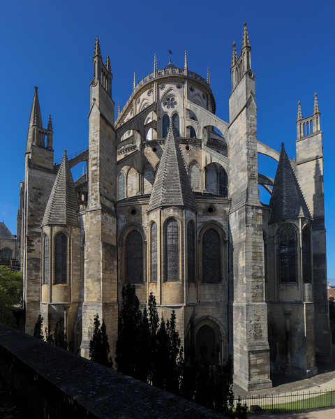 Bourges, Saint Stephen Cathedral Chevet