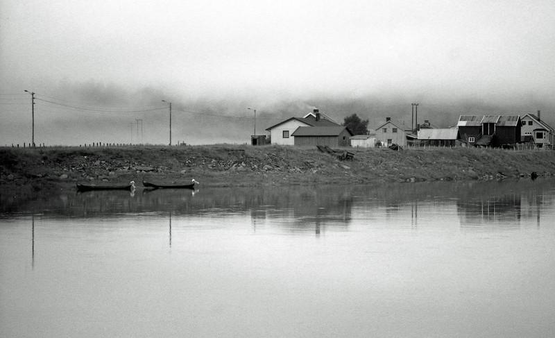 Low Clouds - Karasjok, Norway - July 1989