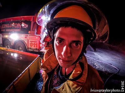 Peat Bog Fire, June 11, 2014