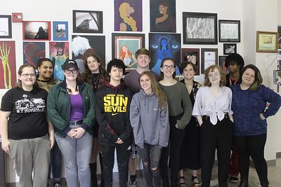 Arts & Humanities Focus Program Senior Art Show
