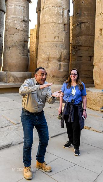 02-06-20 Egypt Day5 Luxor Karnak Dr Warzari