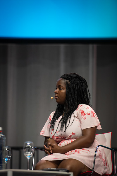 22nd International AIDS Conference (AIDS 2018) Amsterdam, Netherlands.   Copyright: Steve Forrest/Workers' Photos/ IAS  Photo shows: Special Session: The legacy of Prudence Mabele: Championing gender justice and health equity. Mercy Ngulube, CHIVA, United Kingdom