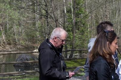 Borås Djurpark med farfar och kusiner 2013