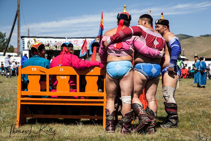 Mongol Wrestler