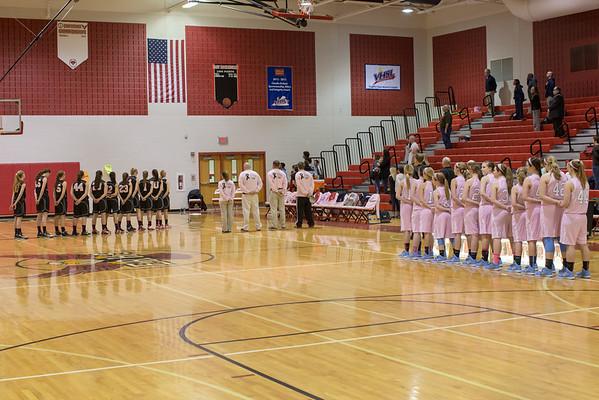 2015 ERHS Girls Varsity vs Page County