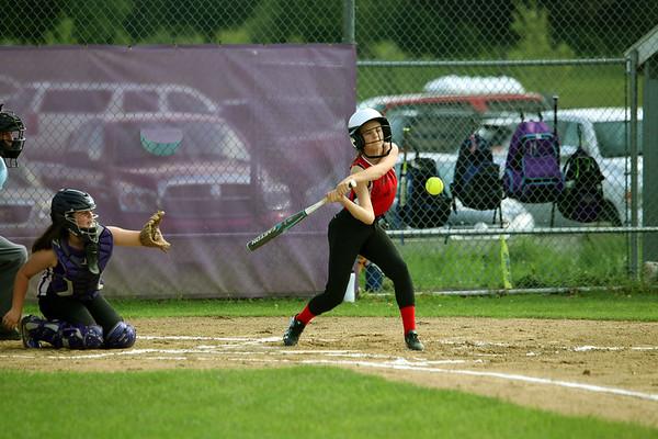 Windsor Locks Girls Softball All Stars vs Ellington  6/18/17