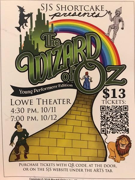 Wizard of Oz - SJS MS 2018