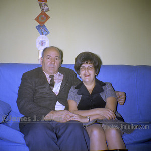 Dad and Mom on the Couch