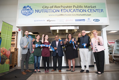 Rochester Public Market Kitchen Ribbon Cutting