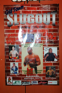 Oldtown Slugout Boxing May 17, 2007