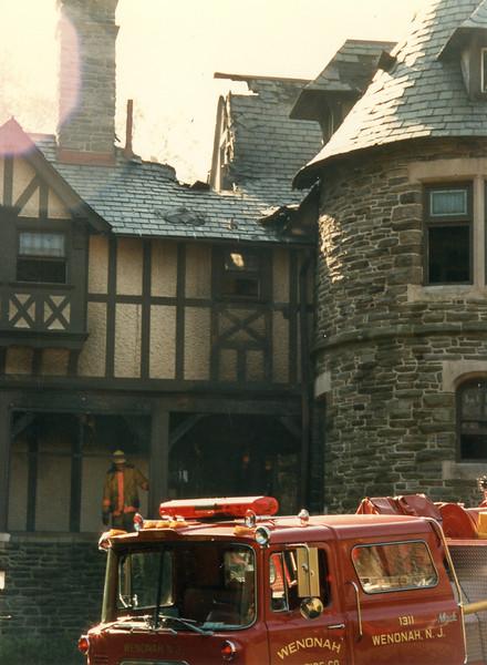 The Castle Fire 1989
