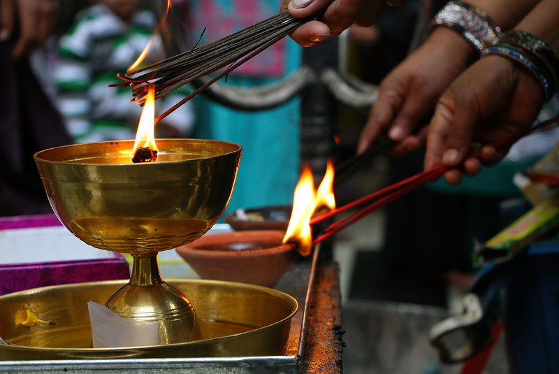 Prayer Fragrance Sticks, Dargah Hazrat Nizamuddin, Delhi, India