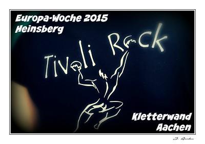 Europa-Woche   Heinsberg 2015   18/11/2015  Kletterwand Aachen