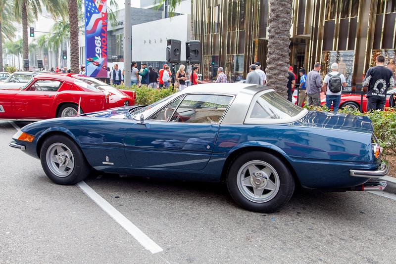 1969 Ferrari 365 GTS/4 Daytona Spyder Speciale - 12925, 1969 Paris Show car