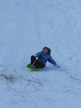 sledding at blewett pass