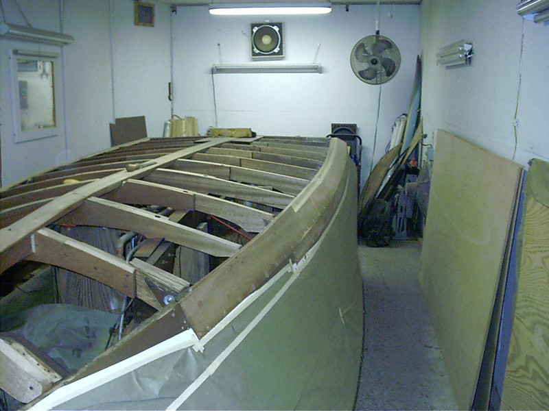 New starboard non trip installed.