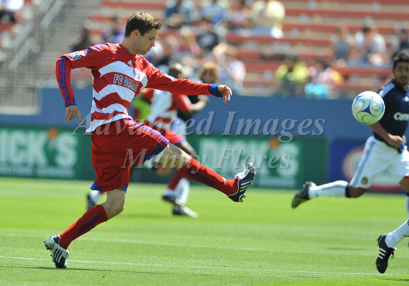29, March 2009:  FC Dallas forward Jeff Cunningham #9in action during the soccer game between FC Dallas & Chivas USA at the Pizza Hut Stadium in Frisco,TX. Chivas USA  beat FC Dallas 2-0.Manny Flores/Icon SMI