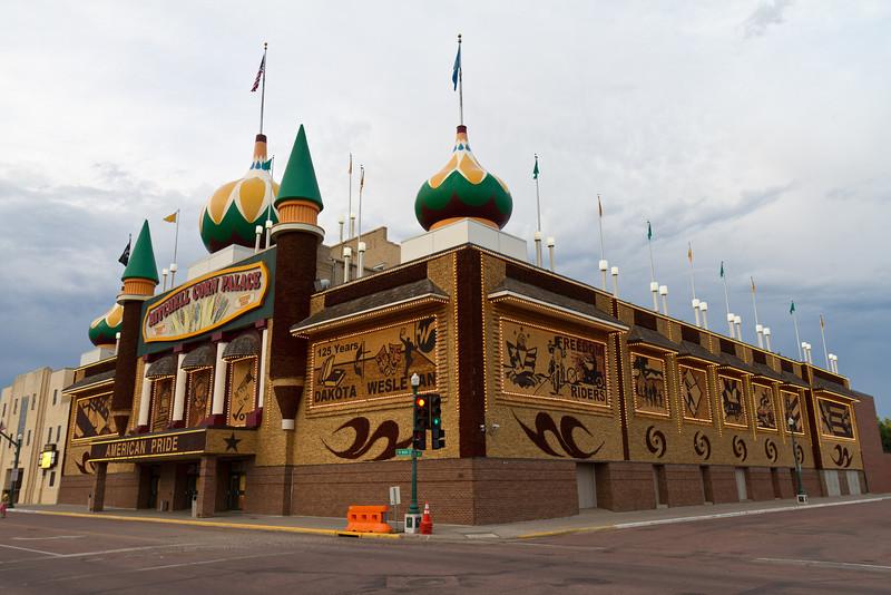 Corn Palace at Dusk
