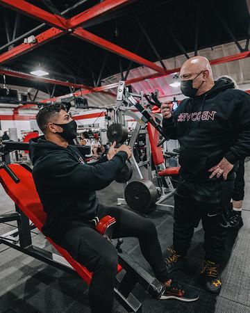 11-17-2020 Chest workout W/Hany Santa Cruz