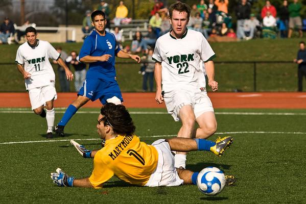men's soccer - 10/27/07