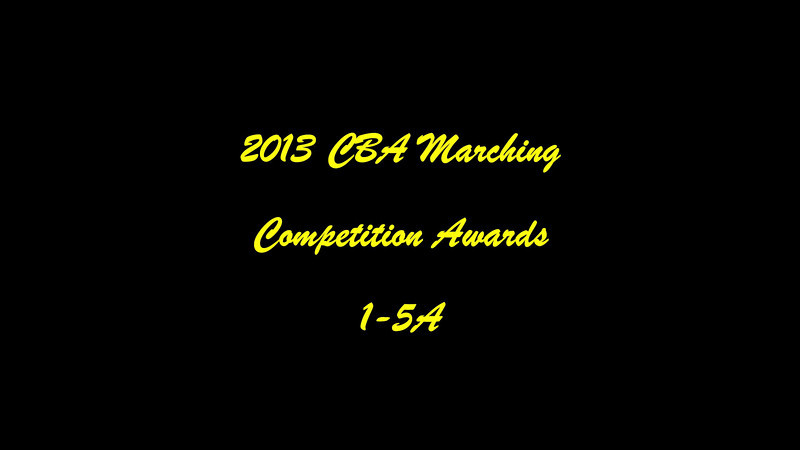 CBA State Marching