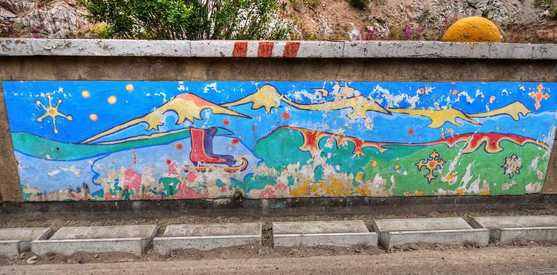 Chimbulak murals #4  http://sillymonkeyphoto.com/2012/01/24/chimbulak-murals-3-and-4/