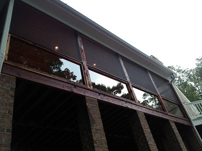 Ramoin Lake house Porch Makeover