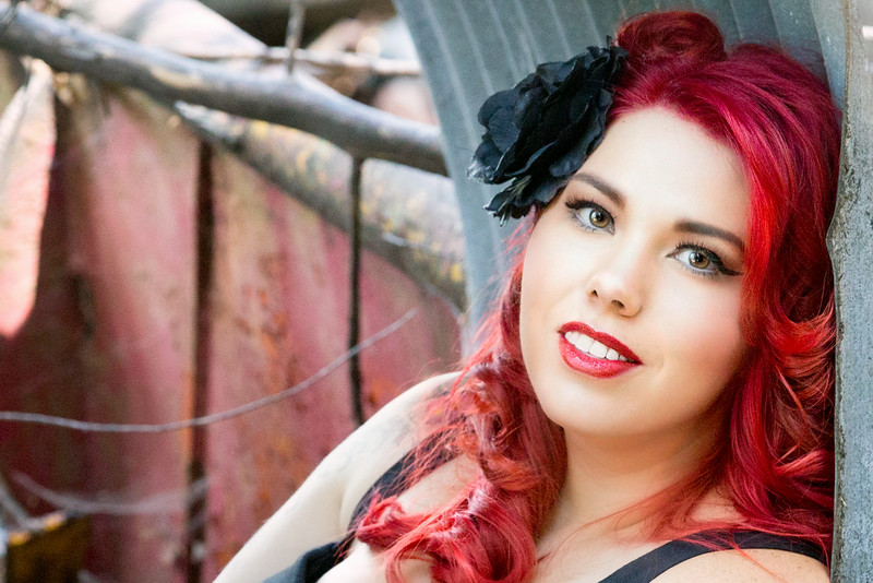Grungy Pinup