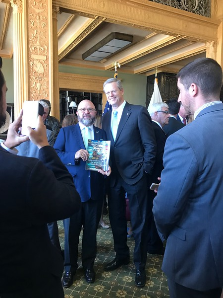 23.	Governor Baker with Brenton and 400 cover