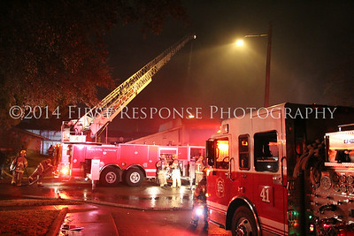 Dallas, TX. Aerial Ladder Action