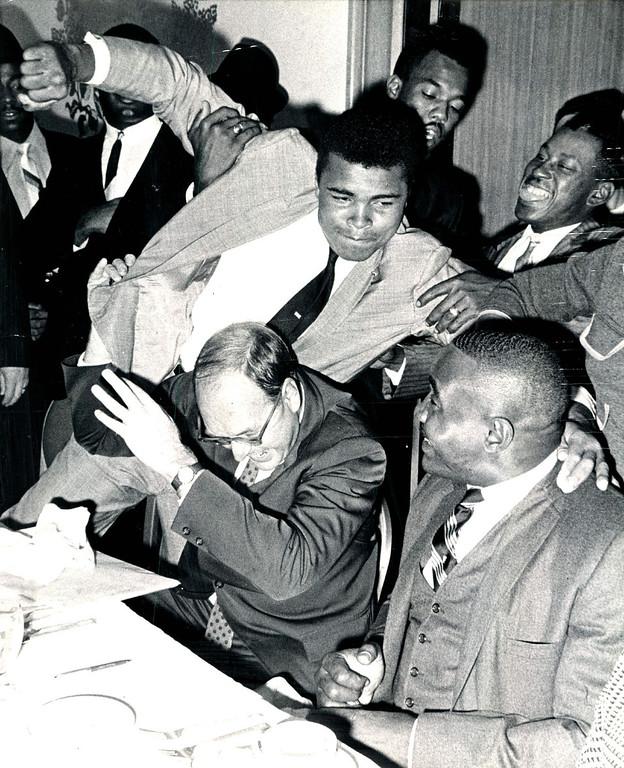 . MUHAMMAD ALI, 1966. Denver Post Library photo archive