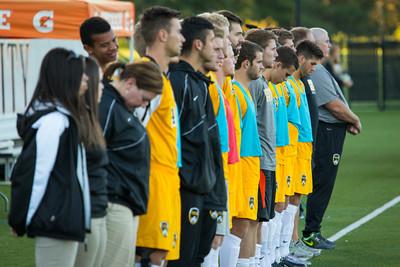 NKU Men's Soccer vs Wright State 9-23-2014