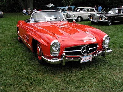 Larz Anderson Museum of Transport - 2003 - Mercedes Day