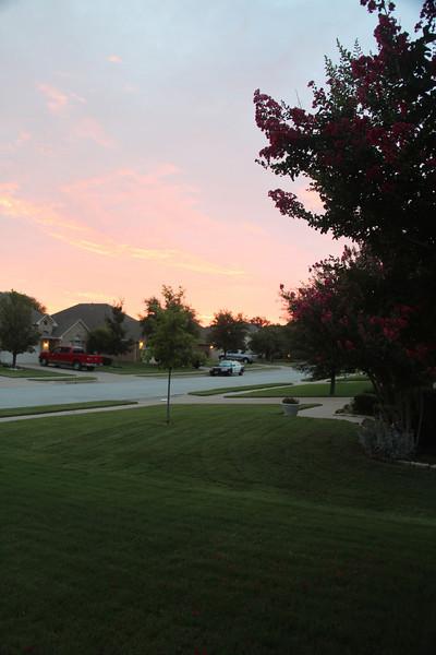 7.01.12 Sunrise on July 1, 2012