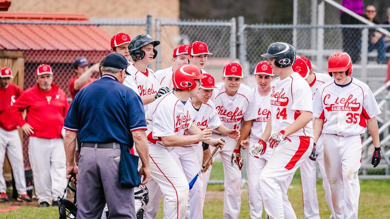 2018 Saranac Varsity Baseball