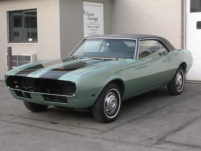 1968 Chevrolet Camaro Restoration - Darren Miller