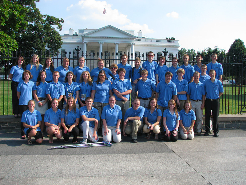 2012 Youth Tour at the White House!