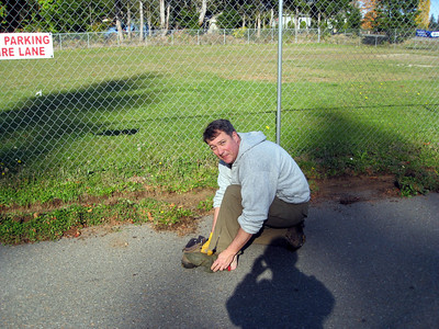 Parking Lot Cleanup - Oct 26