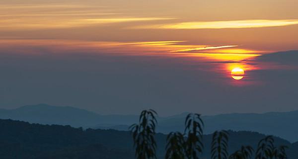 Beech Mountain Sunset