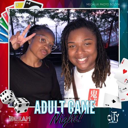 Adult Game Night Photos