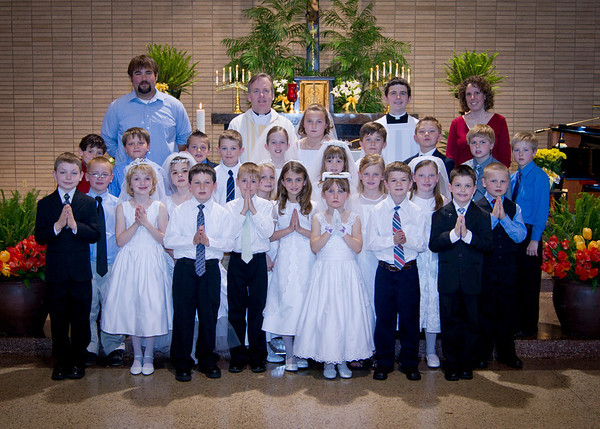 2012 St. Mary's First Communion