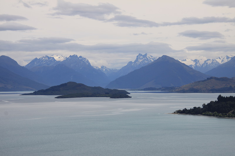 Lake Wakatipu with the Remarkable Mtns