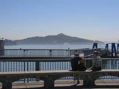 Corte Madera to Sausilito to SF and back via Golden Gate Bridge