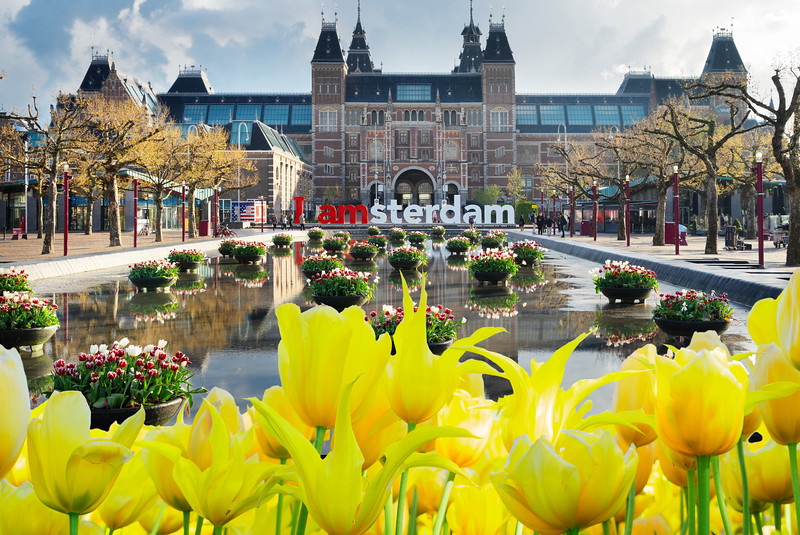 Central Train Station - Weekend in Amsterdam