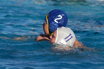 One Way Water Polo Club - First Annual Fall Invitational Youth Water Polo Tournament, Santa Maria - Santa Barbara 12U Boys vs Bakersfield 14U Coed 11/15/09. SBWPC vs BWPC. Photos by Allen Lorentzen.