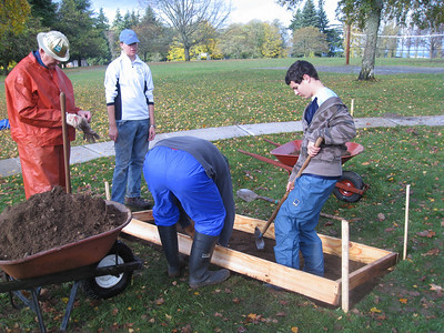 David's Eagle Project - Day 1 - Nov 8