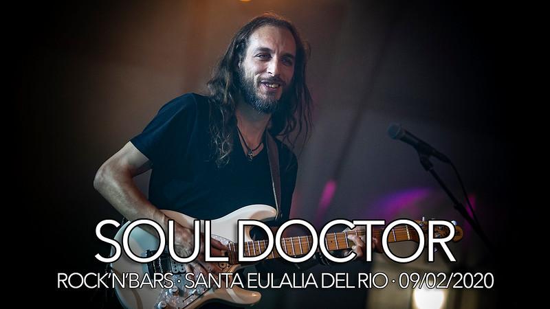 SOUL DOCTOR · 09/02/2020 · ROCK'N'BARS