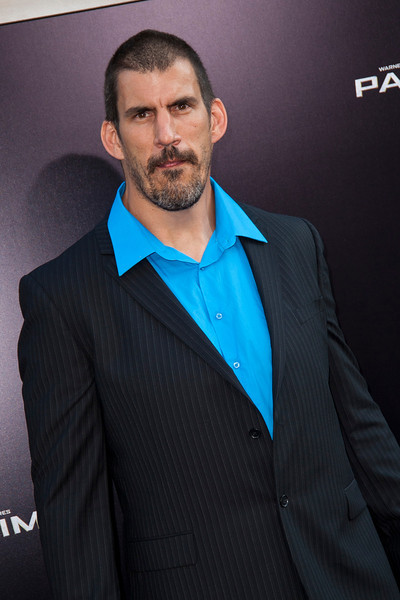 HOLLYWOOD, CA - JULY 09: Actor Robert Maillet arrives at the premiere of Warner Bros. Pictures' and Legendary Pictures' 'Pacific Rim' at Dolby Theatre on Tuesday, July 9, 2013 in Hollywood, California. (Photo by Tom Sorensen/Moovieboy Pictures)