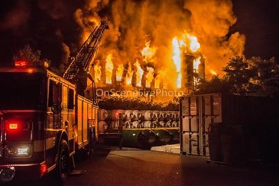 Multiple Alarm Mill Building Fire - Bank St, Waterbury, CT - 7/30/18
